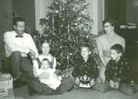 Bob and Betty with children